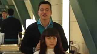Rodrigo Cintra ensina a fazer o long bob em cabelos com muito volume