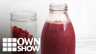 How to Make Kris Carr's Antioxidant-Boost Smoothie | #OWNSHOW | Oprah Online