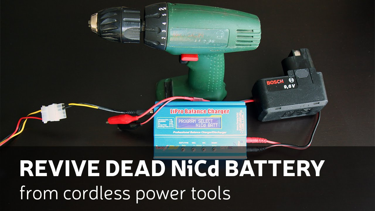 Drill Batteries Nicad Vs Lithium