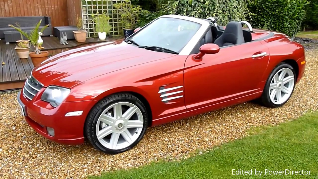 Video Review Of 2006 Chrysler Crossfire Convertible For