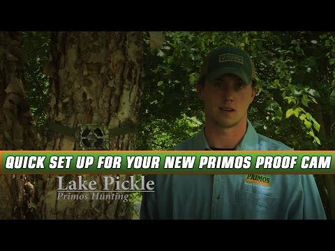 How To Quickly Set Up Your New Primos Proof Cam.