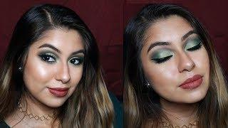 Green Smokey Eye - Tutorial de Maquillaje Facil Morphe + Urban Decay Eyeshadow Palette