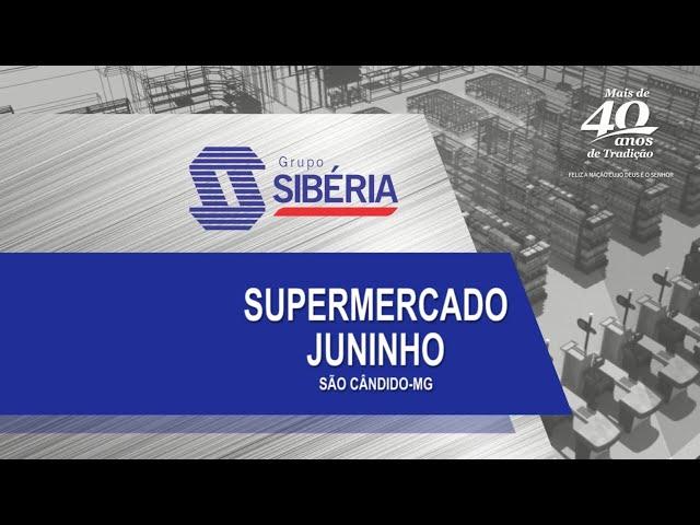Loja Inaugurada - Supermercado Juninho - São Cândido/MG