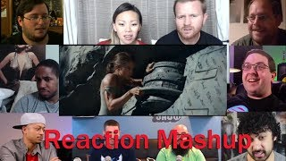 Tomb Raider Official Trailer #1 REACTION MASHUP