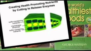 Garlic Broccoli Cheese Garlic Salad Recipe Video| Worlds Healthiest Foods