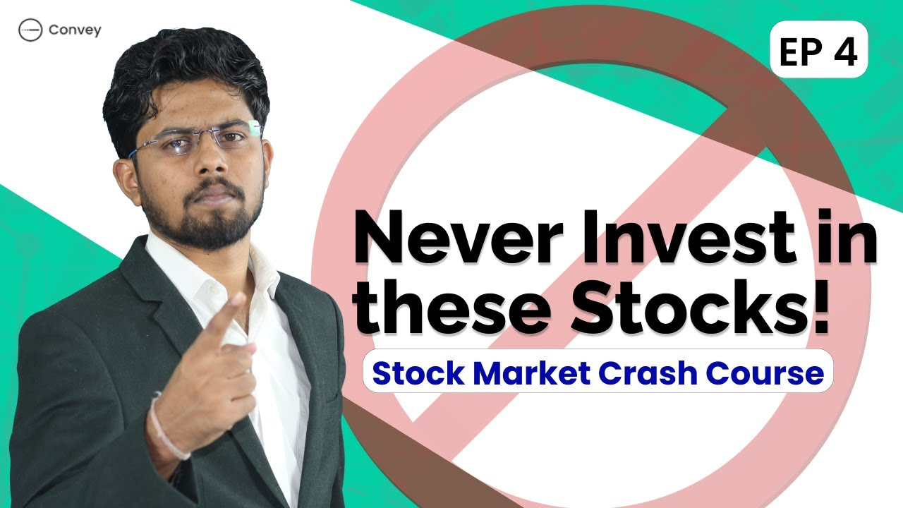 Download EP4: Where Not to Invest? | Stock Market Failure | Stock Market Crash Course | Explained In Hindi |