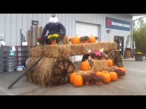 Asheville Movers Love Halloween Art At Southern States Coop In Hendersonville NC  #WNC