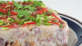 Steamed Yam Cake (Orh Kueh/芋粿/芋头糕) *