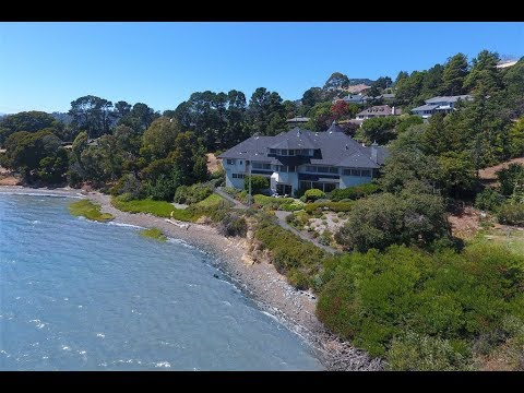 Rare Waterfront Estate Oasis in San Rafael, California
