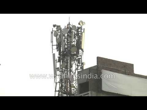 Mobile towers run on telecom bandwidth but also on diesel generators!