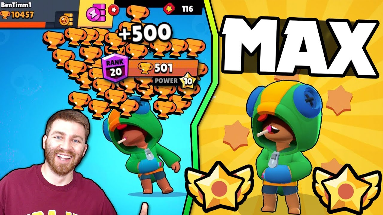 New Leon 500 Trophies Best Tips Tricks Brawl Stars Max Leon