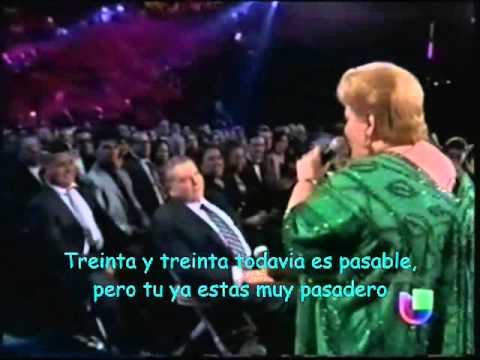 Romeo Y Su Nieta Paquita La Del Barrio Letra