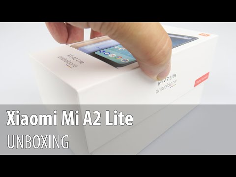 Xiaomi Mi A2 Lite Unboxing and Short Hands-on Review