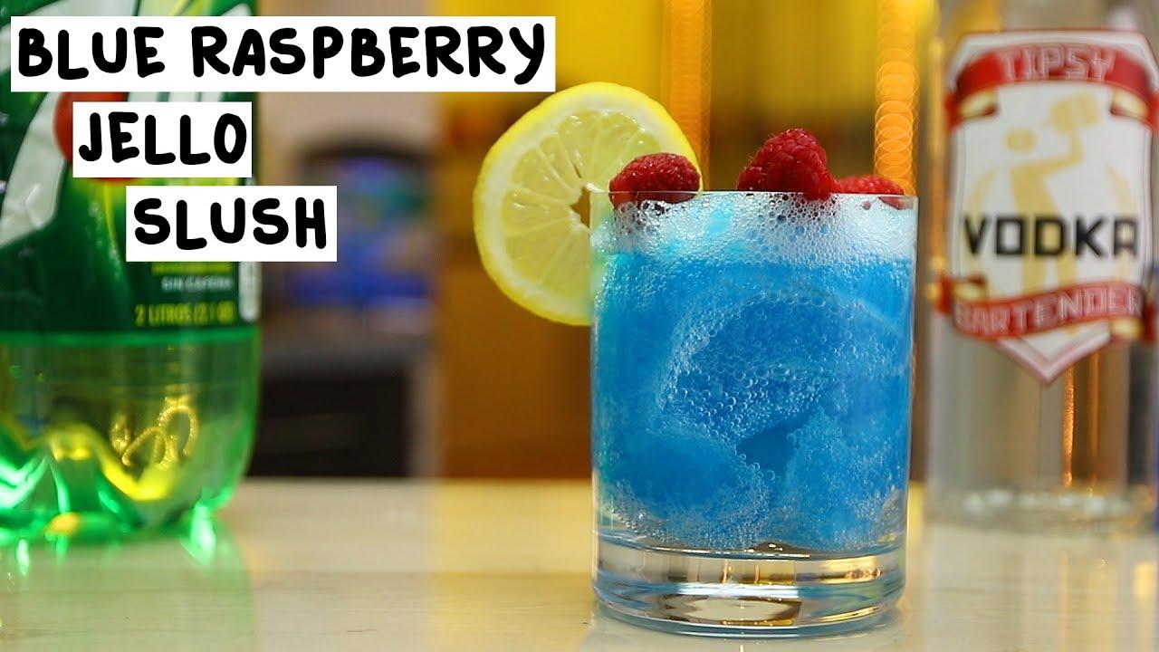 Blue Raspberry Jello Slush - YouTube