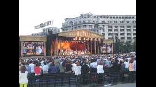 Concert Andre Rieu, vineri 5 iunie 2015 (5.06.2015), Bucuresti, Piata Constitutiei 2