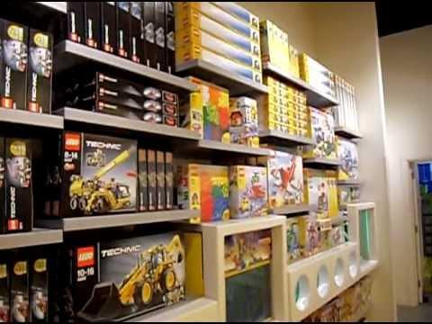 Lego Store Bluewater kent - YouTube