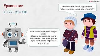 Видеоурок по математике  «Уравнение»