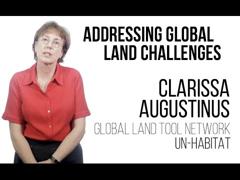 Clarissa Augustinus - Addressing Global Land Challenges