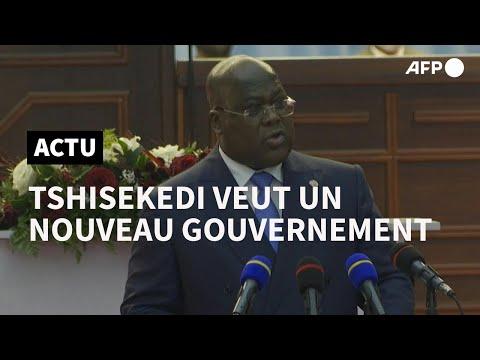 AFP: RDC: après les 'humilations', Tshisekedi veut un nouveau gouvernement   AFP Extrait