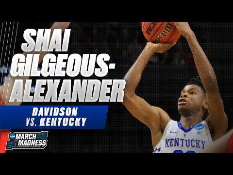 Kentucky\'s Shai Gilgeous-Alexander flirts with a triple-double in the Wildcats\' victory