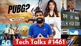 Tech Talks#1461-BGMI対PUBG、Juhi Chawla 5Gケース、Twitterの最終通知、M21 Prime、Jio Phone 5G