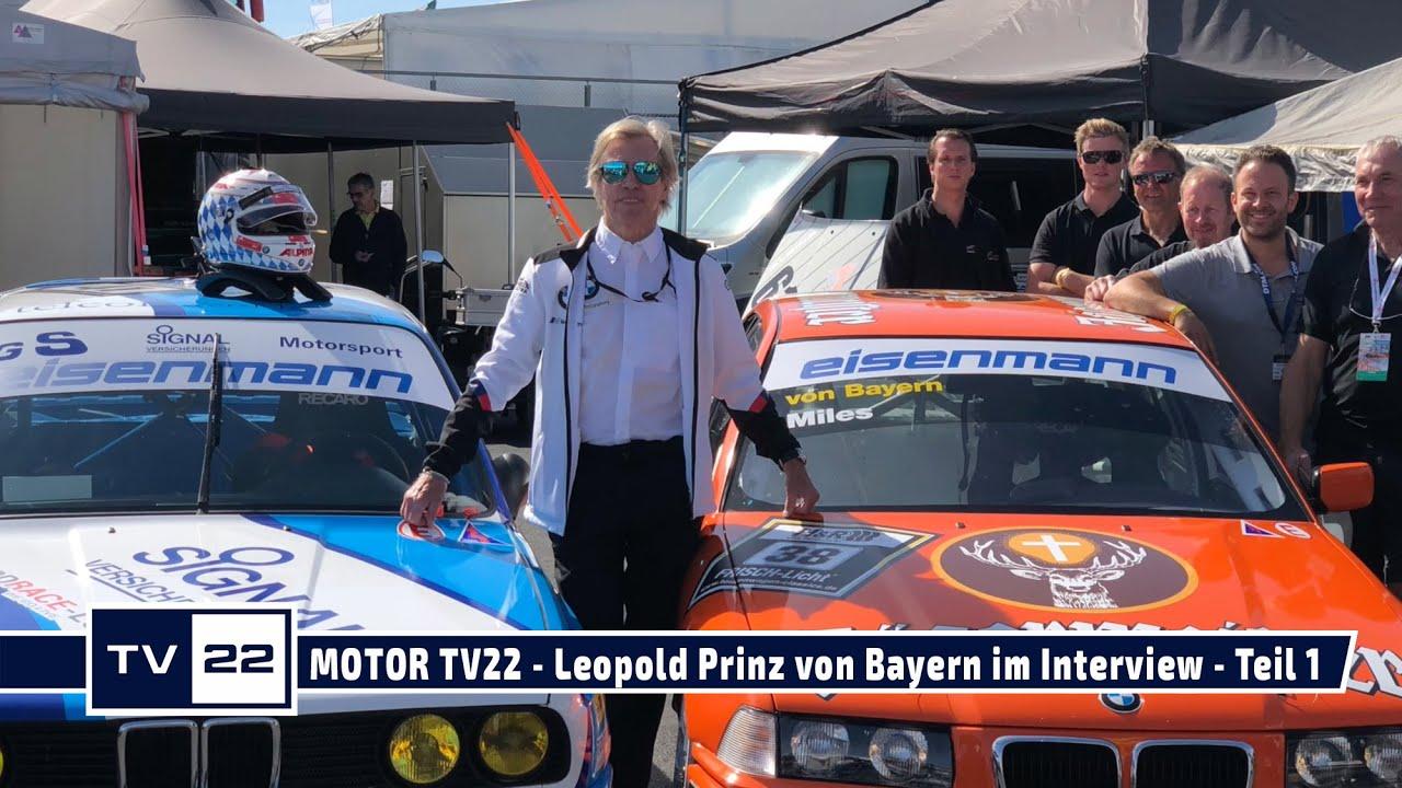 MOTOR TV22: Leopold Prinz von Bayern im Interview: Die Anfänge von Prinz Poldi im Motorsport