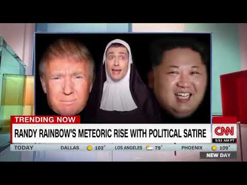 CNN interview with Randy Rainbow!