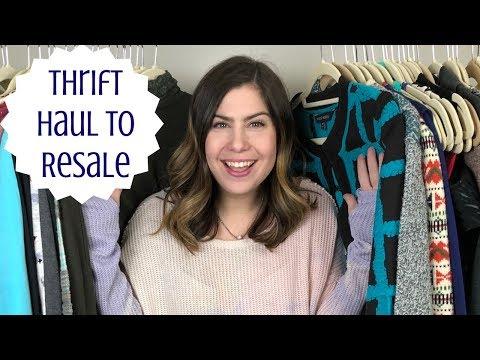 50+ Item Thrift Haul To Resale On Poshmark & Ebay | emptyhanger