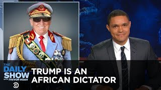 Download Donald Trump - America's African President: The Daily Show Mp3 and Videos
