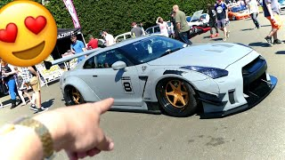 CRAZY LIBERTY WALK GTR !!(JAPFEST)