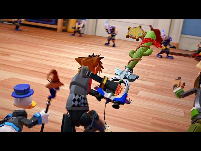 Kingdom Hearts 3 Toy Story World Gameplay 60fps Meeting Toys