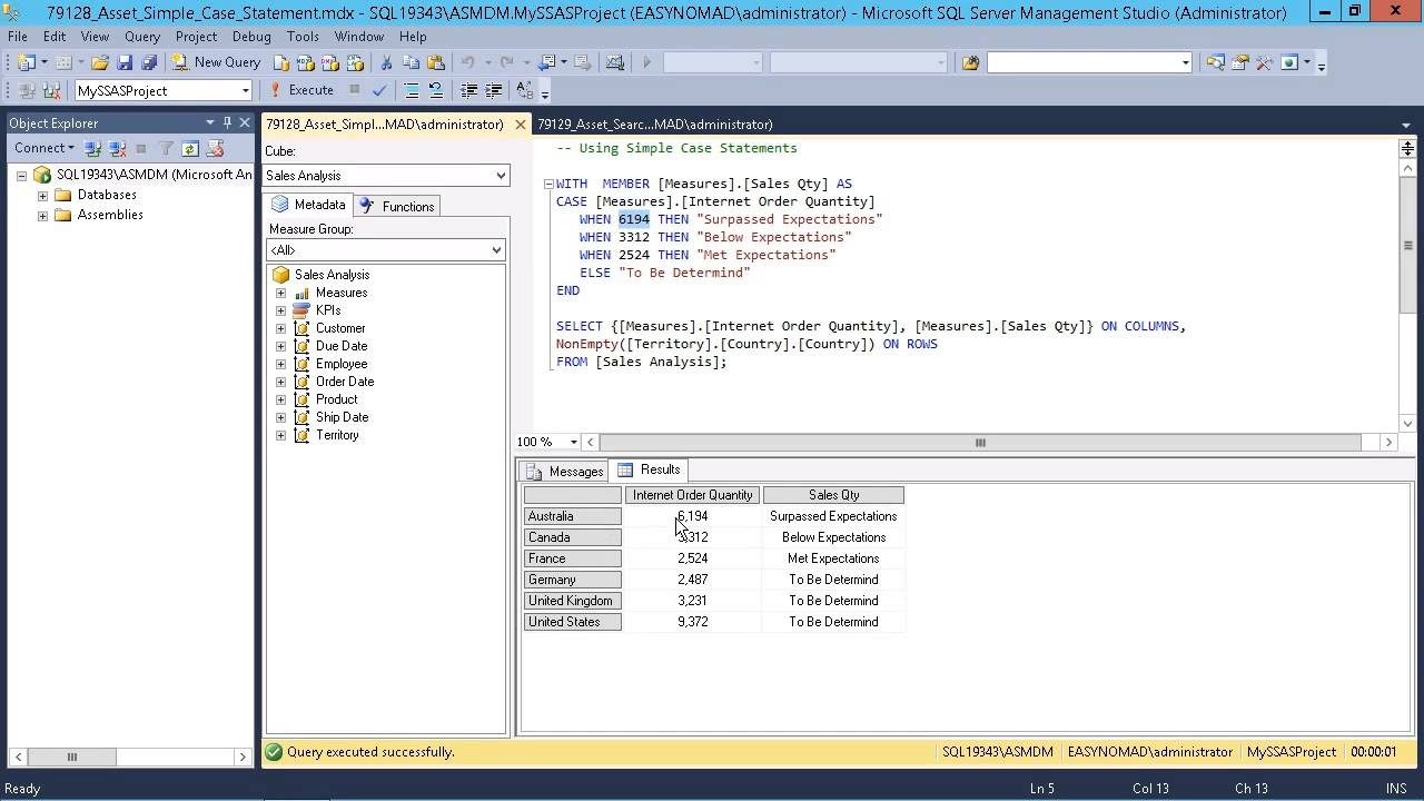 Microsoft Sql Server 2014 Designing Bi Solutions Performing A