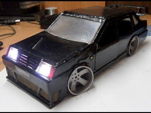 видео: Самодельная авто модель ваз 21099 из металла .the car vaz lada 21099 metal.