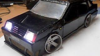 Самодельная авто модель ваз 21099 из металла .The car VAZ LADA 21099 metal.