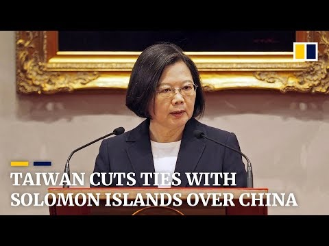 Taiwan cuts ties with Solomon Islands over China