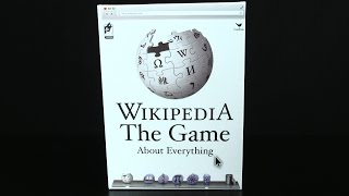 Wikipedia The Game About Everything Board Game from Cardinal Games