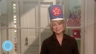 Patriotic Parade Hats - Memorial Day - Martha Stewart