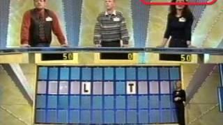Rad van fortuin, 1997, RTL4 met Hans van der Togt en Leontien! - www.retroforum.nl