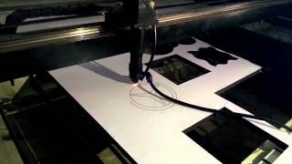 Jq 150watt Reci Laser Machine Cut 12mm MDF Wood