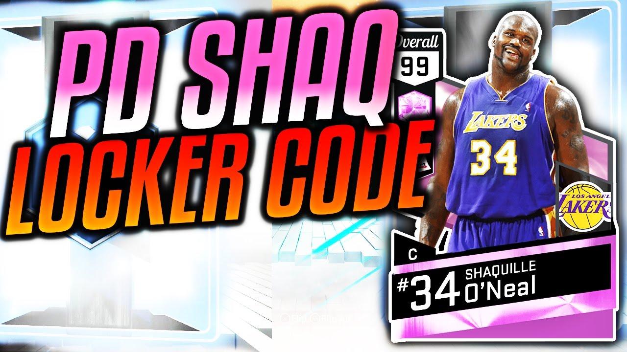 Pink Diamond Locker Codes Twitter - Nba 2k17 pink diamond shaq locker codes we got scammed myteam