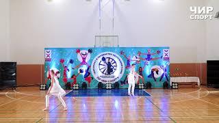 Чир Спорт 2021  - 057 - Лосева Валерия, Печникова Елена, INFINITY, Ухта