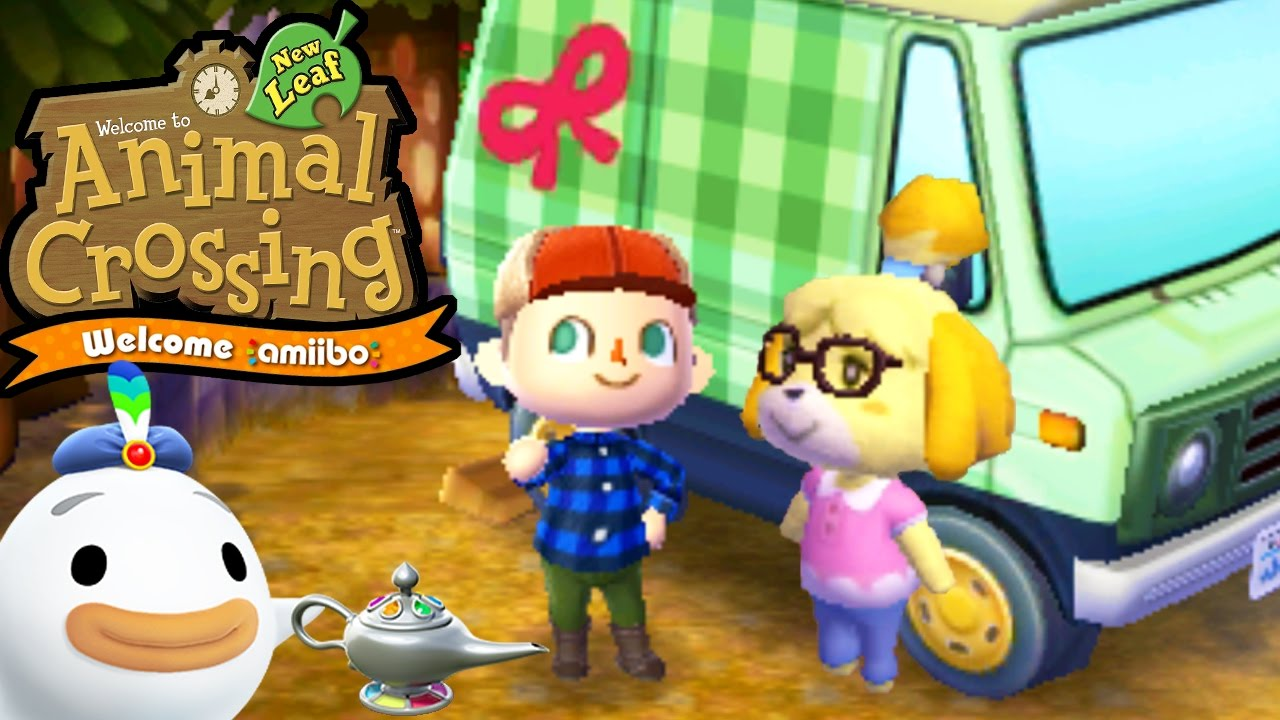 Animal Crossing: New Leaf - Welcome amiibo - Isabelle RV - Wisp Town Hall -  3DS Gameplay Walkthrough