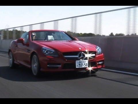 メルセデス・ベンツのSLK200ブルーエフィシェンシー MT。メルセデス・ベンツの日本導入モデルにMT仕様が設定されたのは、実に21年ぶり!! アノ国...