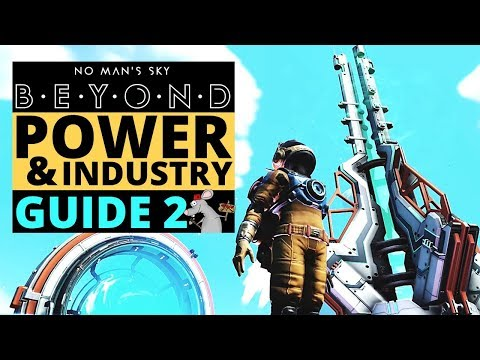 NO MAN'S SKY POWER AND INDUSTRY GUIDE - Electromagnetic Generator - Survey Device - Mineral And Gas