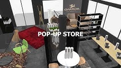 Pop-up store Morand à Sion - Hangar 41