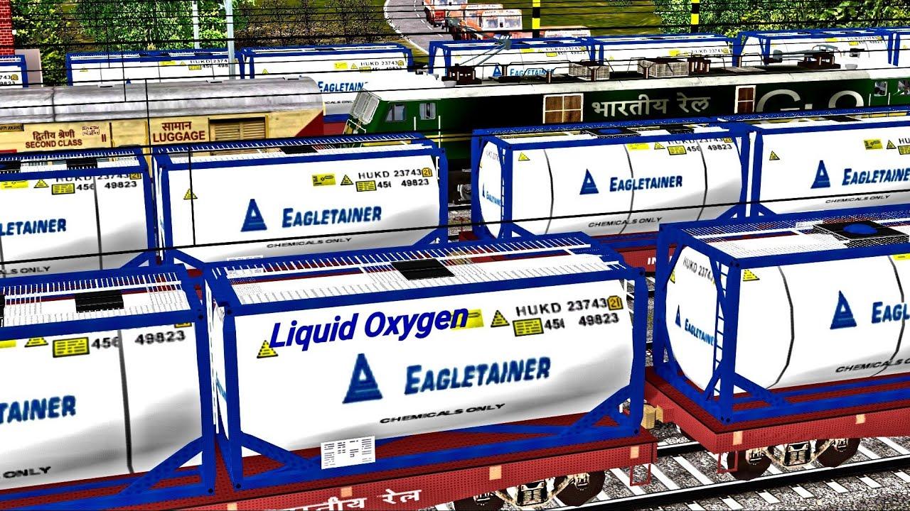 EMERGENCY OXYGEN Express Duty || Oxygen Freight Action || Durgapur IR-MSTS