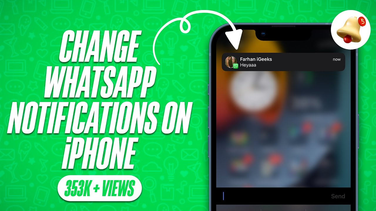 iphone notification sounds how to change whatsapp notifications sound on iphone 12096