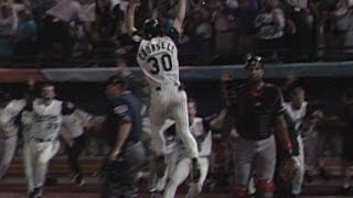 WS1997 Gm7: Fish win first WS on Renteria's walk-off