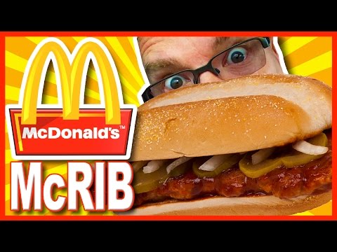 McDonald's McRib Combo Review and Drive Through test