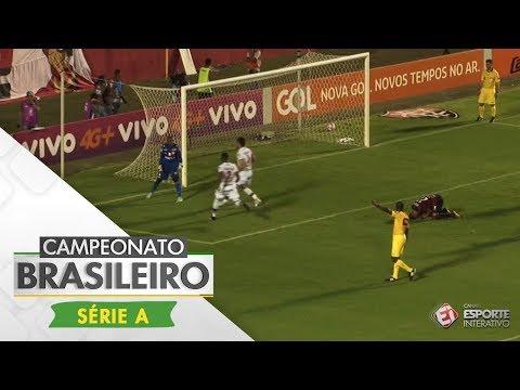 Melhores Momentos - Vitória 1 x 1 Atlético-GO - Campeonato Brasileiro (29/10/2017)